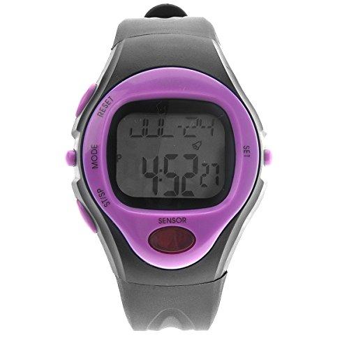 VORCOOL Pulse Unisex impermeabile 06221 Calorie Counter sport digitale cardiofrequenzimetro con cronometro allarme data