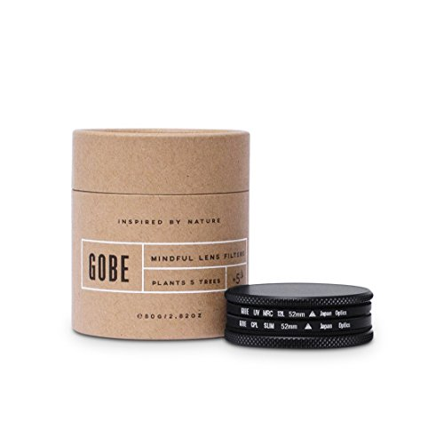Gobe - Kit filtro 52mm: UV + CPL Polarizzatore