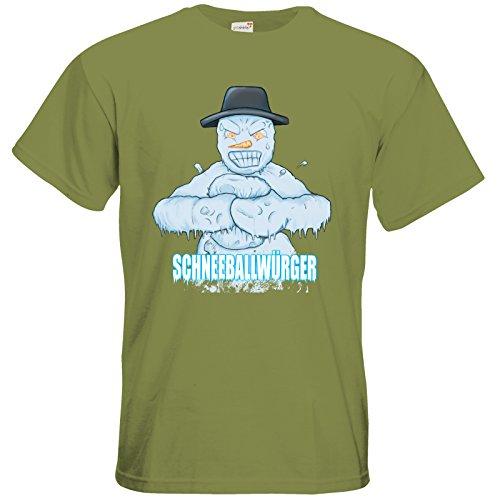 getshirts - Fernsehkritik / Massengeschmack - T-Shirt - Schneeballwuerger Green Moss