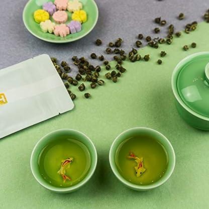 Kaiserliche-Jasmin-Perlen-Grner-Jasmin-Tee-aus-China-Hochwertiger-chinesischer-Grntee-mit-Jasmin-Blten-getrocknet-