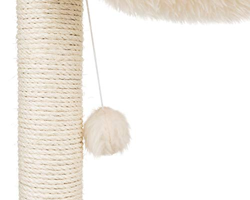 Trixie Baza Kratzbaum –  50 cm hoch in creme - 6