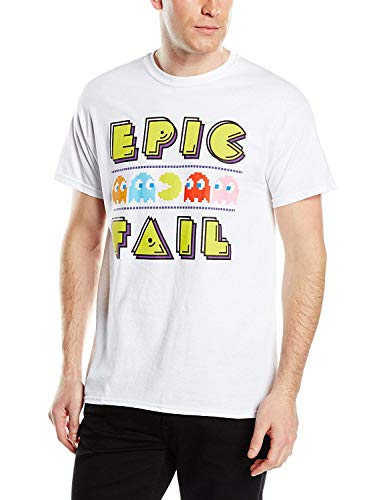 Pacman Men's Epic Fail Short Sleeve T-Shirt, S to XL