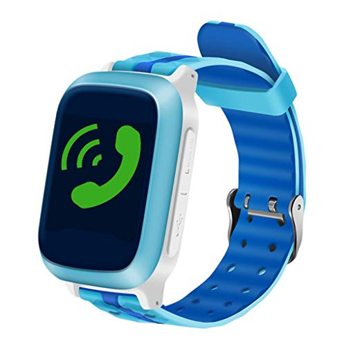 Hahuha , DS18 Kids Baby GPS WiFi Locator Tracker Position Smart Watch Anti-Lost Monitor (Gps-monitor)