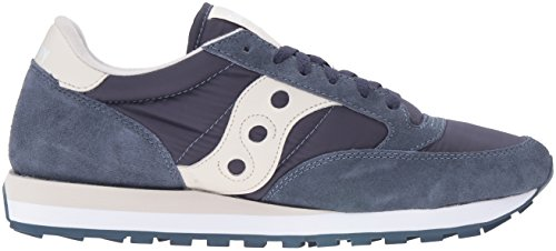 Saucony Jazz Original mixte adulte, suède, sneaker low Navy/Off White