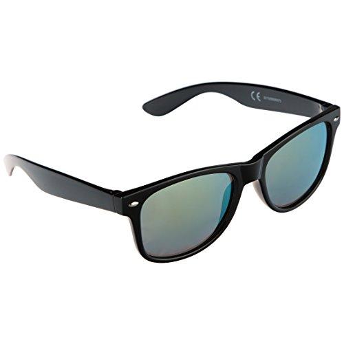 41cb851abc Ultrasport Wave Gafas de Sol, Unisex Adulto, Negro/Amarillo