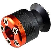 BJ Global 10mm de fibra de carbono Basculante Carretes de deslizadores para Kawasaki Ninja 250ER6ER6F Z250para KTM Duke 390125200RC 39014–15