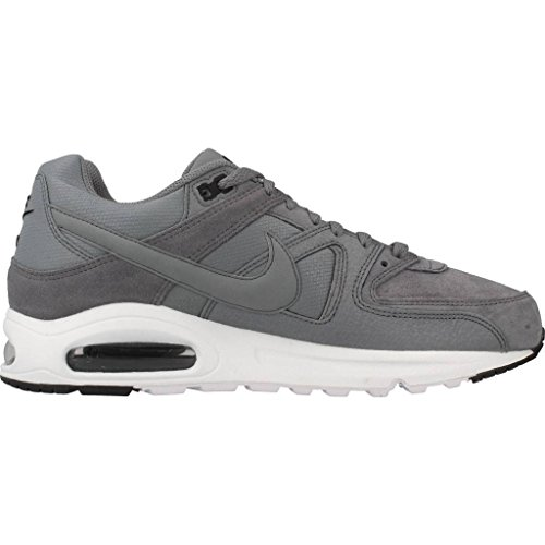 Nike  Air Max Command Prm, Sneakers basses homme Multicolore (Cool Grey / Cool Grey / Black / Max Orange)