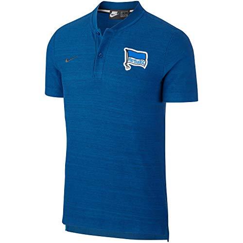 Nike Herren Hertha BSC T-Shirt, Gym Blue/Anthracite, L