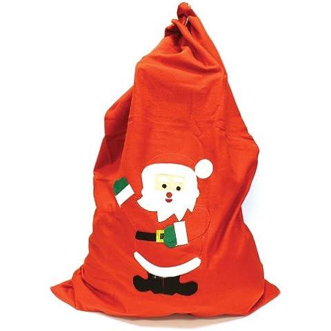 Concept4u - Bolsa de fieltro para regalos de Navidad (90 x 62 cm)