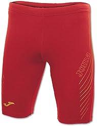 Joma Elite IV - Malla corta para hombre, color rojo / oro, talla XXL
