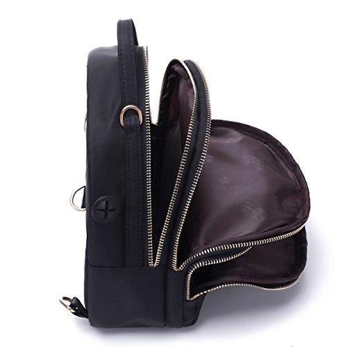 Damen Rucksack Trendy Großraum Outdoor Freizeit Handtasche,Camouflage Gray