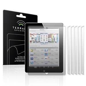 Terrapin ® Anti Glare Screen Protector (6 in 1 pack) for Apple iPad 2 (2011)/ iPad 3 (2012) 9.7 inch screen