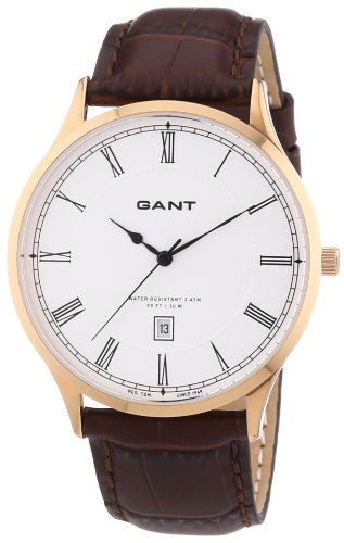 Gant Unisex Analogue Watch with White Dial Analogue Display - W10666