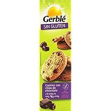 Gerblé sin Gluten Cookies Con Chips De Chocolate A La Harina De Maíz, Teff Y