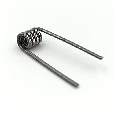 DIY-24H - 10x Alien Clapton 0,45 Ω Ohm Coils Wire Prebuilt Fertigwicklung RDA RBA RTA Kanthal A1 Draht von DIY-24H