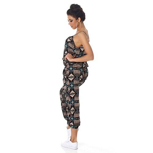 Damen Overall Anzug Hausanzug Jumpsuit Bodysuit Einteiler Lang Trendy Hosenanzug Türkis (Variante 1)
