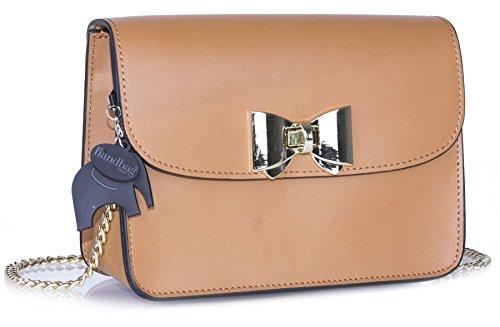 Big Handbag Shop ,  Damen Umhängetaschen hellbraun