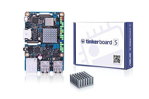 ASUS Tinker Computer Single Board S (Einplatinencomputer, Arm-basiert, Rockchip Quad-Core RK3288 Prozessor, 2GB DDR3, 4X USB 2.0)