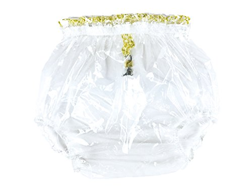 Haian ABDL Pull-On Locking Plastic Pants (Medium, Glass Clear) Test