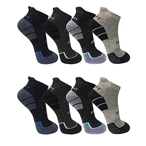 BestSale247 12 Paar Herren Thermo Sneaker Socken (12 Paar | Farbmix, 39-42)