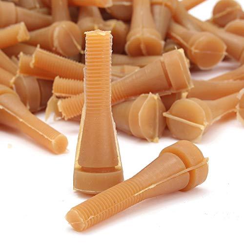 TuToy 72Pcs Huhn Plucker Kleber Stick Picker Geflügel Finger Ente Gans Henne Zupfen Werkzeuge Kit -