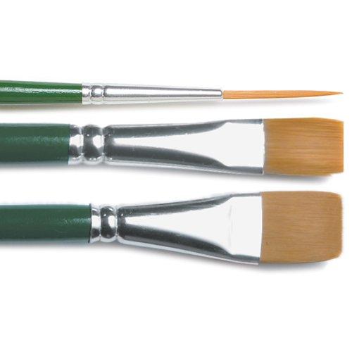 Plaid: Craft 1171Nylon One Stroke Pinsel Set-3kg
