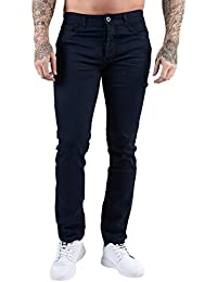 Mens ETO Designer Slim Tapered Stretch Premium Stylish Cotton Pants Jeans 3 Colours