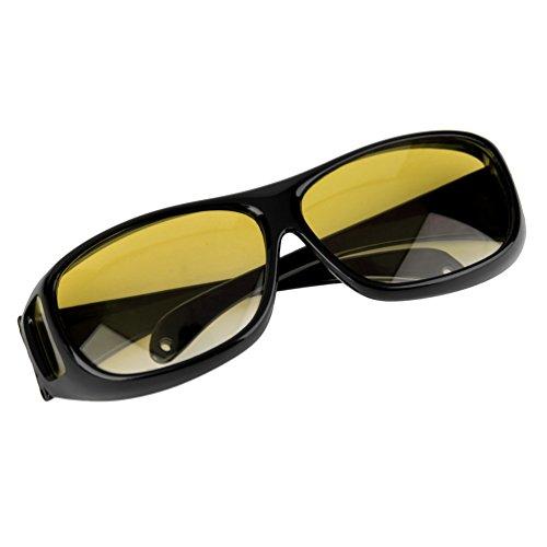 Hombre Mujer Noche Gafas antideslumbrantes Visión antideslumbrante Gafas de sol de seguridad para el conductor Gafas UV que protegen los ojos 400 Gafas - Café