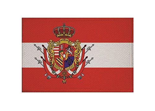 U24toppa bandiera Granducato di Toscana, da 9x 6cm