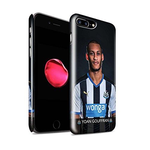 Offiziell Newcastle United FC Hülle / Glanz Snap-On Case für Apple iPhone 7 Plus / Sissoko Muster / NUFC Fussballspieler 15/16 Kollektion Gouffran