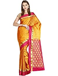 The Chennai Silks - Kanjivaram Silk Saree - Sunflower Yellow - (CCMYSS6305)