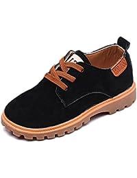 KVbaby - Zapatos de cordones de Piel para niño