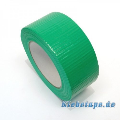 Klebeband Grün 48mm x 50m Gewebeband Reparaturband PE beschichtet