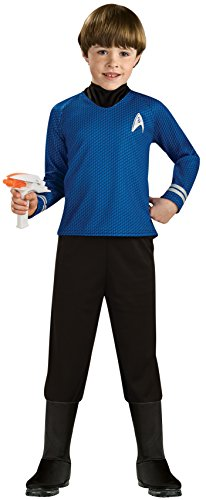Rubie 's Offizielles Kind 's Star Trek Deluxe Spock - MEDIUM -