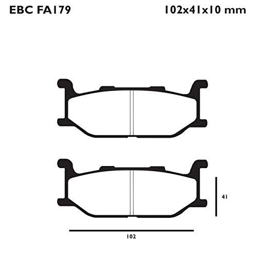 Pastiglie Freno Anteriori Organiche Ebc Yamaha tmax 500 2001-2003 r1217900