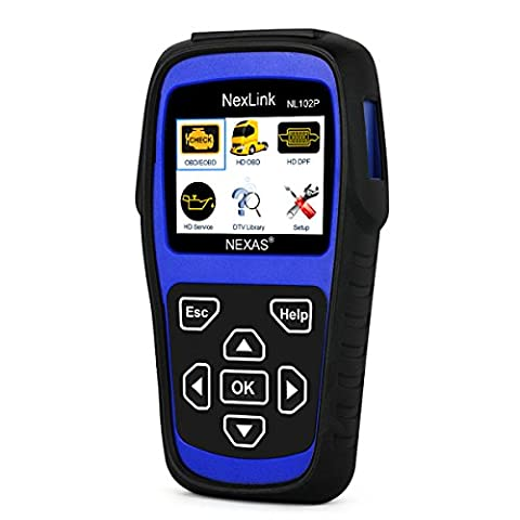 Heavy Duty Truck Scan Tool NL102 Plus OBD2 Scanner with