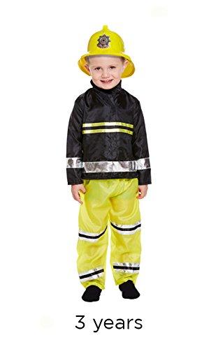 Henbrandt Kleinkinder Feuerwehrmann-Kostüm, Alter: -
