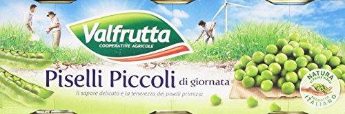 Valfrutta - Piselli Piccoli - 4 confezioni