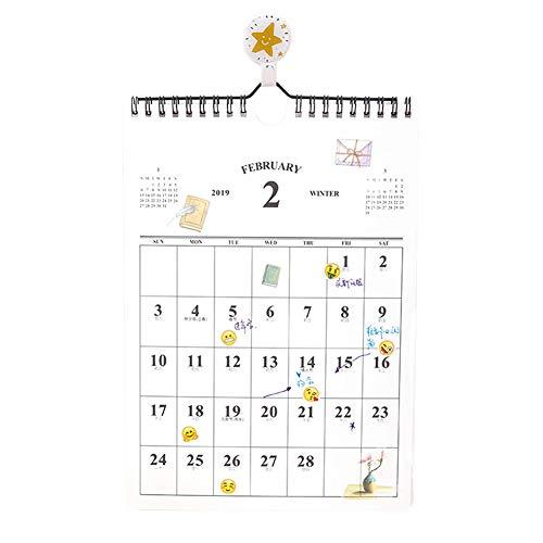Preisvergleich Produktbild Meifyomng Familienplaner Wandkalender 2019,  Hochwertiger Familienplaner mit Ferienterminen. Kalender Ab sofort nutzbar mit Laufzeit bis Dezember 2019(S)