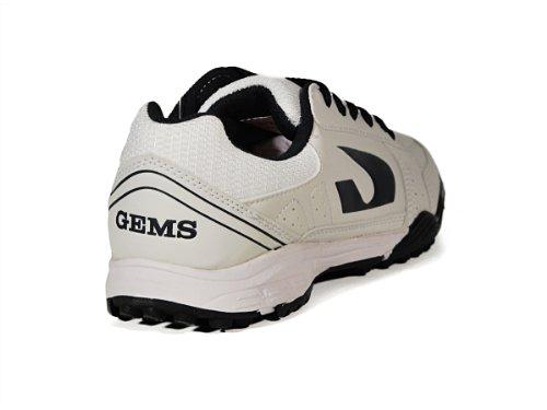 GEMS , Chaussures pour homme spécial foot en salle Blanc Bianco/Blu Blanc - Bianco