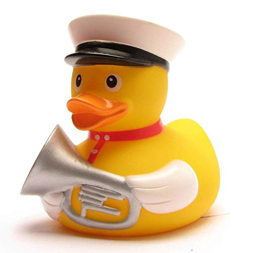Duckshop I Badeente I Quietscheente I Ente Blaskapelle Tuba