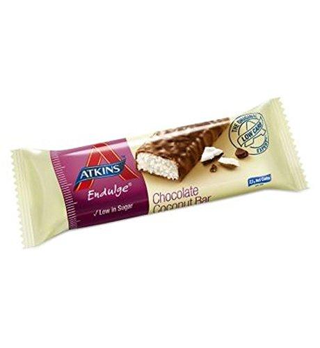 Endulge Schokolade (Atkins Endulge Schokoladen-Kokos-Bar Mit Süßstoff - 35G - Packung mit 2)