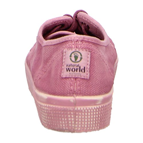 Natural World 901M-601, Scarpe stringate donna Rosso (rosa enzimatico)
