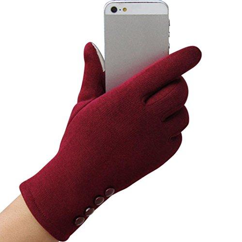 Handschuhe Transer® 1Paar Fashion Damen Touchscreen Winter Outdoor Sport Handschuhe warm für Presents/Christmas (Kostüme Halloween 6 Boy Month)