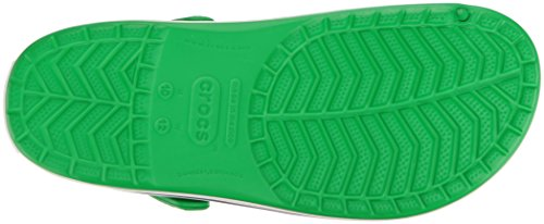 Crocs Unisex-erwachsene Zoccoli Coccband Grün (verde Erba / Bianco)