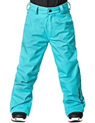 Horsefeathers Niños Rae Kids Pantalones, otoño/invierno, infantil, color Heather Curacao, tamaño M