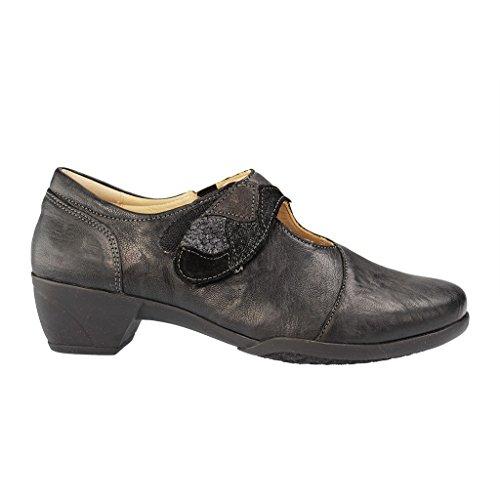FIDELIO - Hallux Gracia G - Damen Pumps - Schwarz Schuhe in G Weite Schwarz