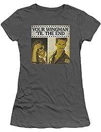 Top Gun - Damen Til The End T-Shirt