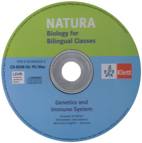 Genetics Nature (Natura - Biology for bilingual classes. Genetics and Immunity. Begleitsoftware)