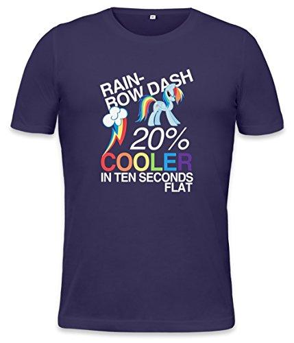 oler In Ten Seconds Flat Mens T-shirt X-Large (My Little Pony Rainbow Dash Hoodie)